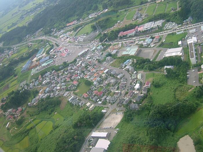 我が町、ふる里上空より|福島県...